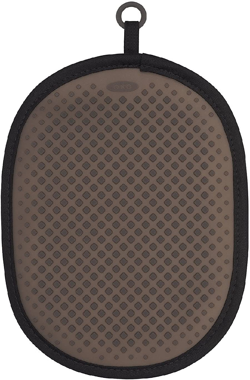 OXO(オクソー) シリコンポットホルダー ブラックの商品画像