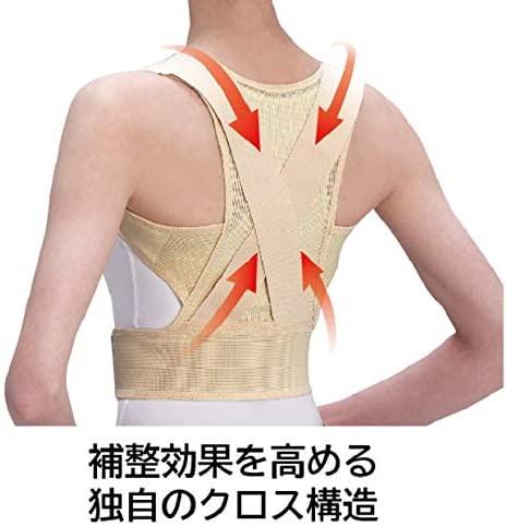 中山式産業 中山式脊椎医学キョウセイベルト メッシュタイプの商品画像3