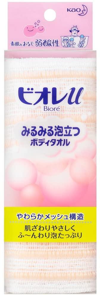Bioré u(ビオレユー) みるみる泡立つボディタオルの商品画像