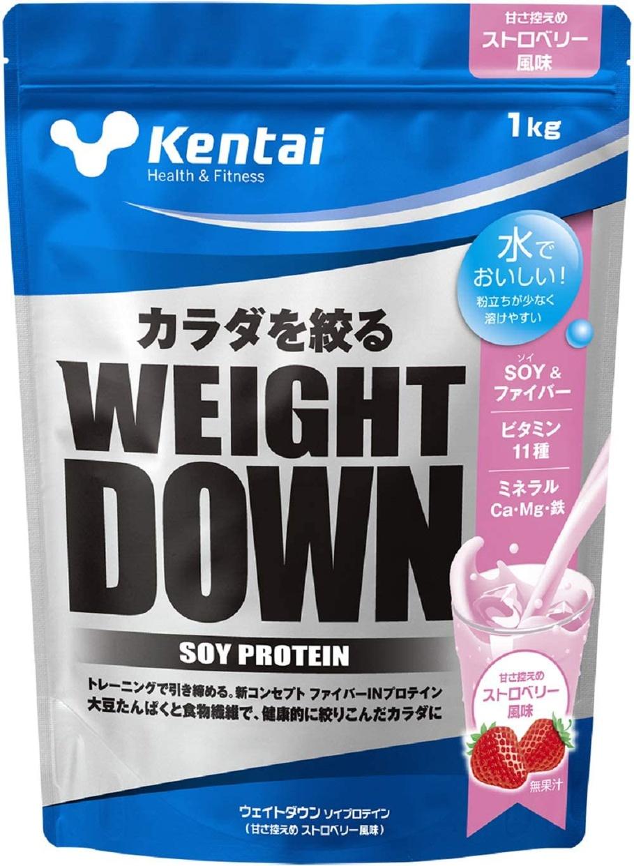 Kentai(ケンタイ) ウェイトダウンソイプロテインの商品画像