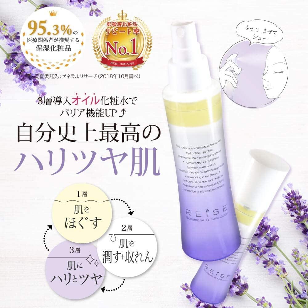 REISE(ライゼ) ブースターオイル ミスト化粧水の商品画像2