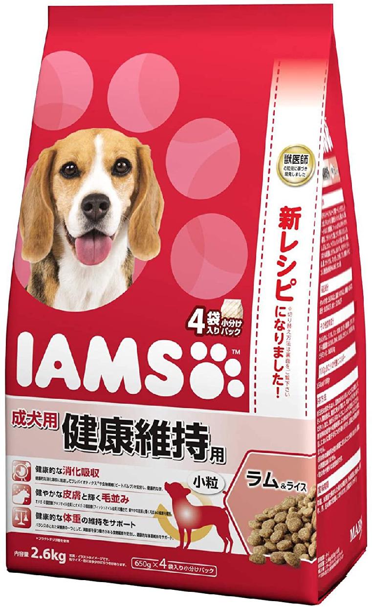 IAMS(アイムス) 成犬用 健康維持用 小粒 ラム&ライスの商品画像