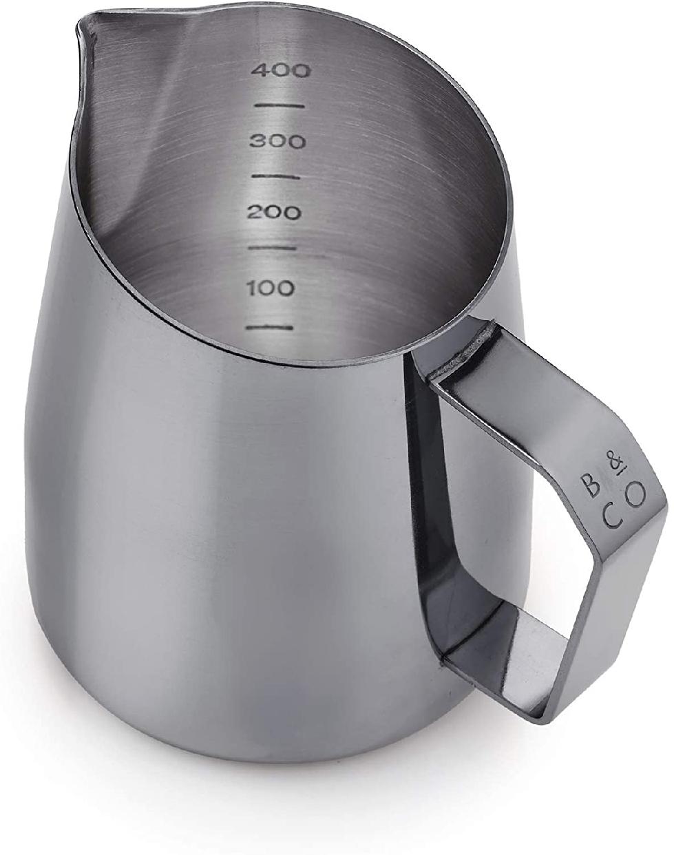 Barista&Co(バリスタアンドコー)Dial In Milk Pitcher 420ml Blackの商品画像2