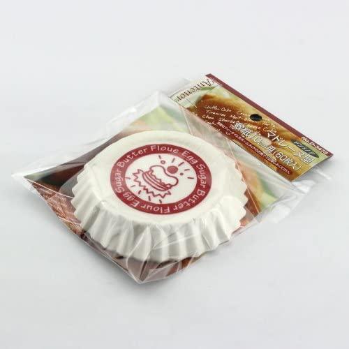 パール金属(パールキンゾク)アンテノア マドレーヌ型敷紙 ホワイト D-3473の商品画像4