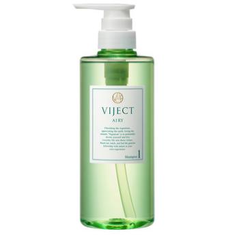 VIJECT(ヴィジェクト) ヴィーガンシャンプー エアリースムースの商品画像