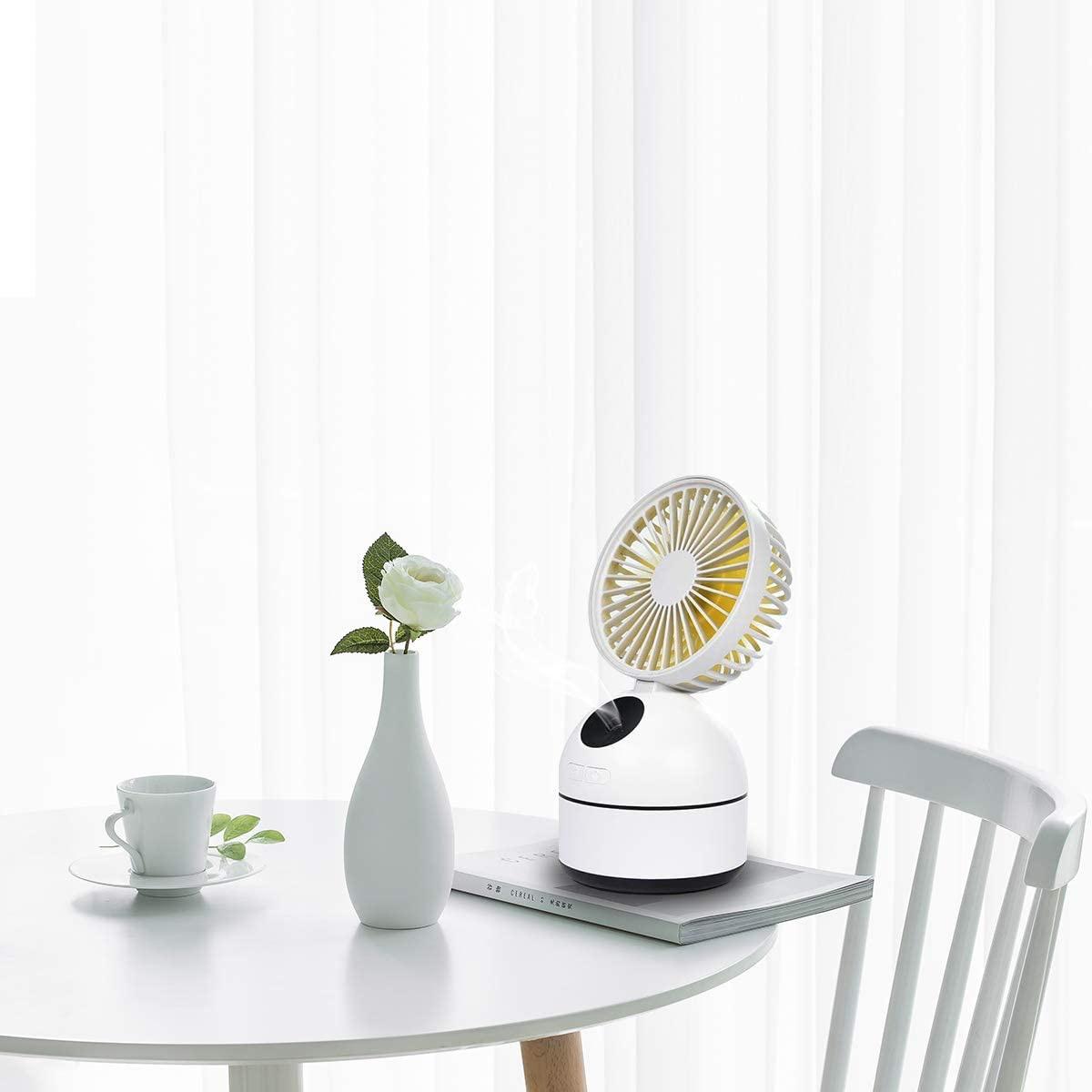 NI-SHEN(ニーシェン) 卓上扇風機 ミストファン加湿機能付きの商品画像7