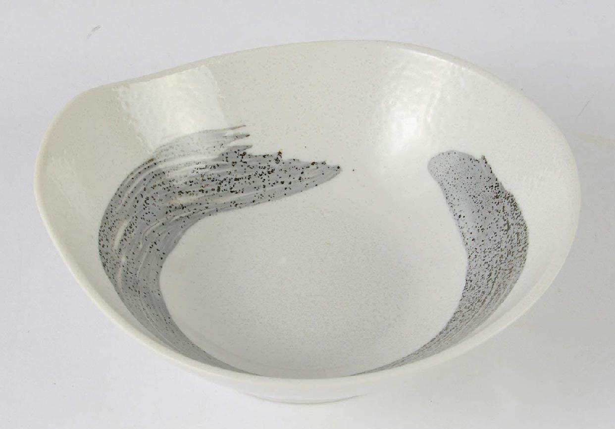 みのる陶器(ミノルトウキ) 美濃焼 粉引刷毛目 とんすい 3個セットの商品画像3
