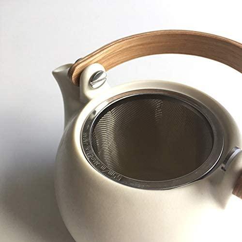 SALIU(サリュウ) 結 YUI 土瓶急須 白 330mlの商品画像5