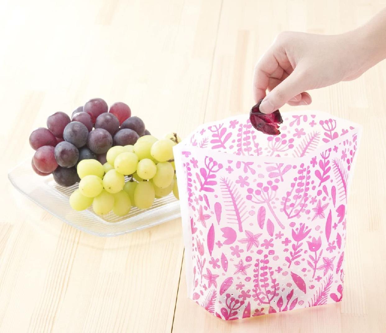 カワタキコーポレーション らくらっくー 自立型水切りゴミ袋 80枚入の商品画像6