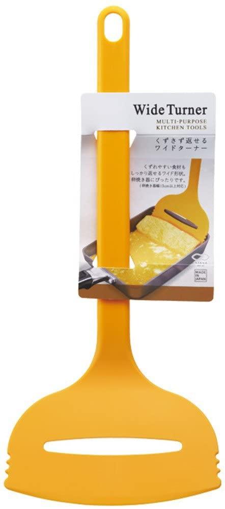 MARNA(マーナ) くずさず返せるワイドターナー K366 イエローの商品画像