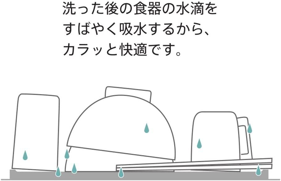 MARNA(マーナ) エコカラット 水切りトレー K688の商品画像3