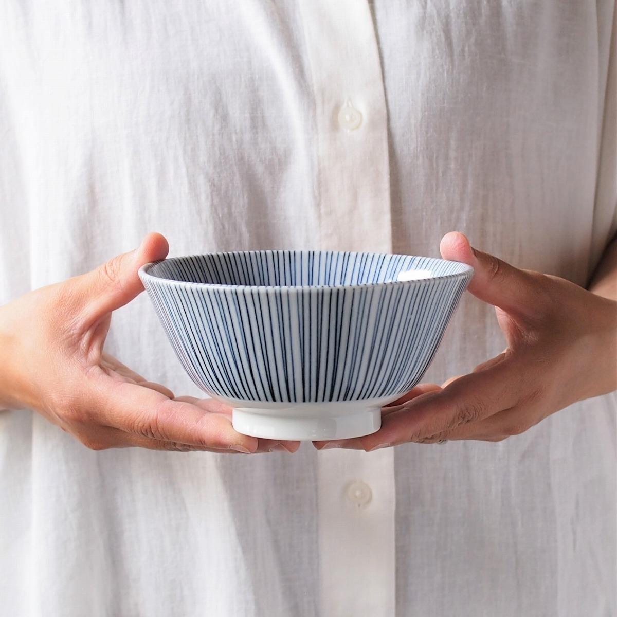 みのる陶器 黒十草 4寸多用丼 13.4cmの商品画像5