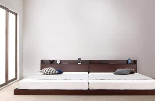 インテリアネットTAKANO 布団が使えるデザインローベッド アイリー マットレス付きの商品画像