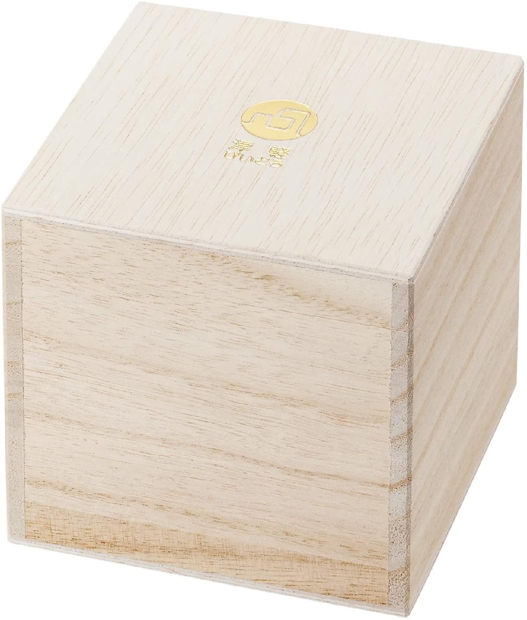 津軽びいどろ(ツガルビイドロ) 金彩ロックグラス 碧 300ml F71467の商品画像3