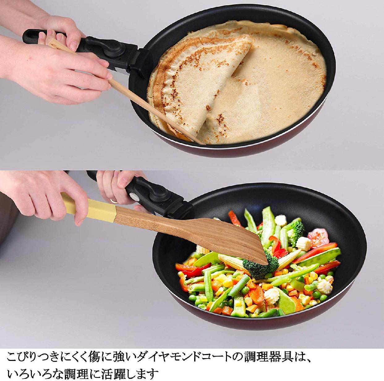 COOKSMARK(クックスマーク)ダイヤモンドコートパン 6点セットの商品画像6