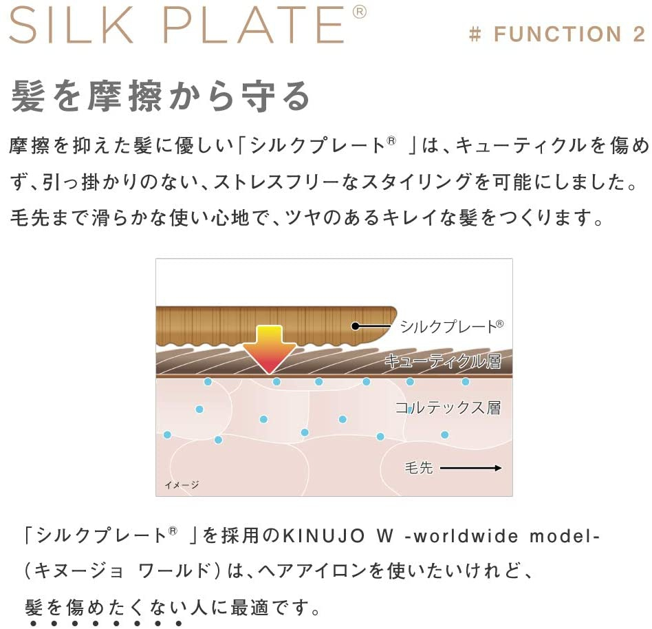 絹女(KINUJO) W ワールドワイドモデルの商品画像3