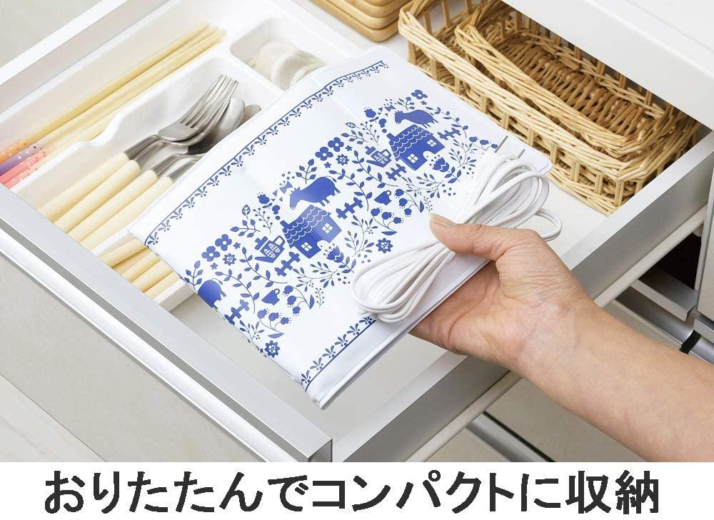 下村企販(しもむらきはん)ヨーグルトーメーカー たたんで収納できる ブルーの商品画像2