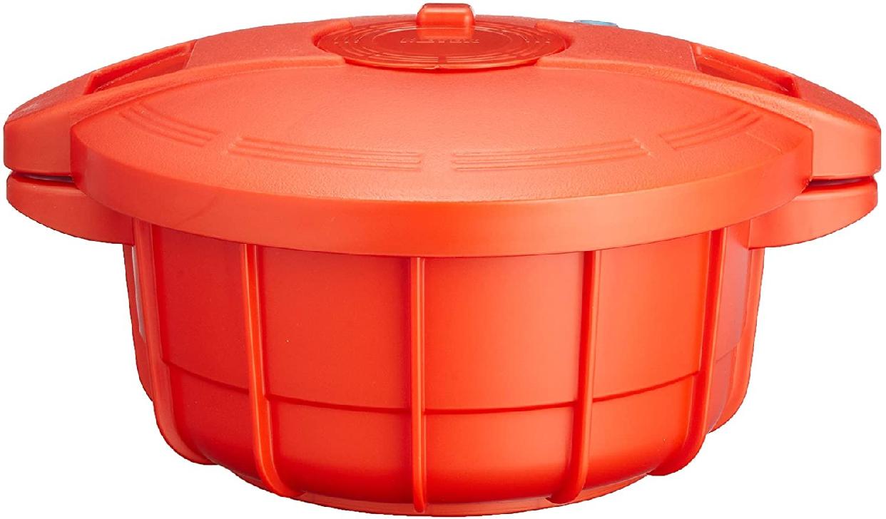MEYER(マイヤー) 電子レンジ圧力鍋 オレンジ 2.3L MPC2.3POの商品画像2