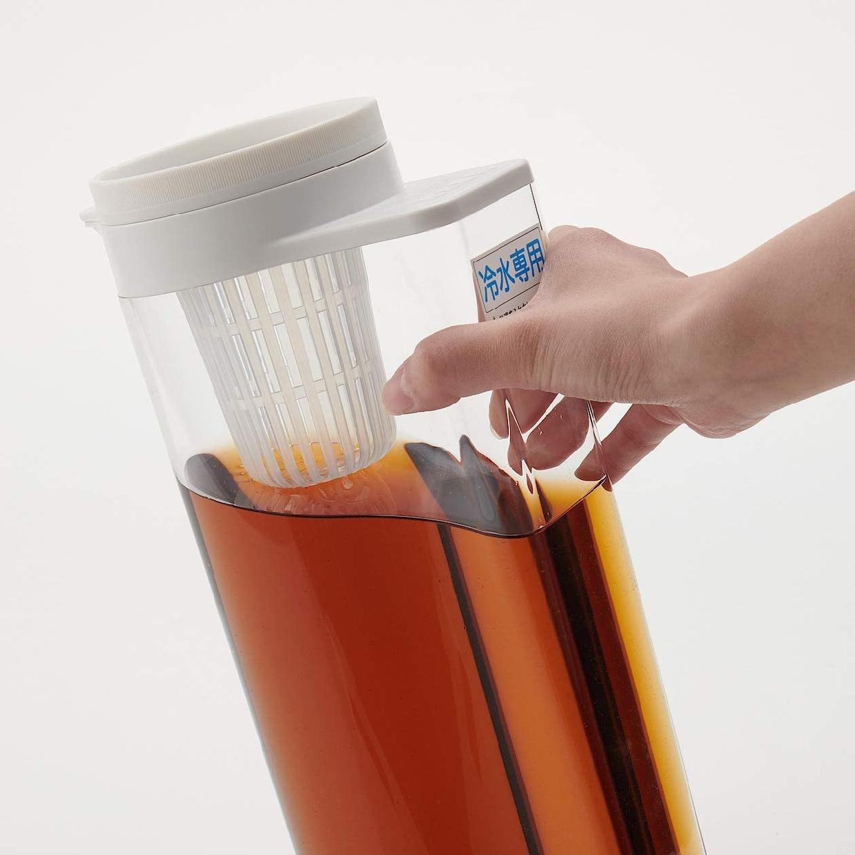 無印良品(MUJI) アクリル冷水筒 冷水専用約2L 44220931の商品画像9