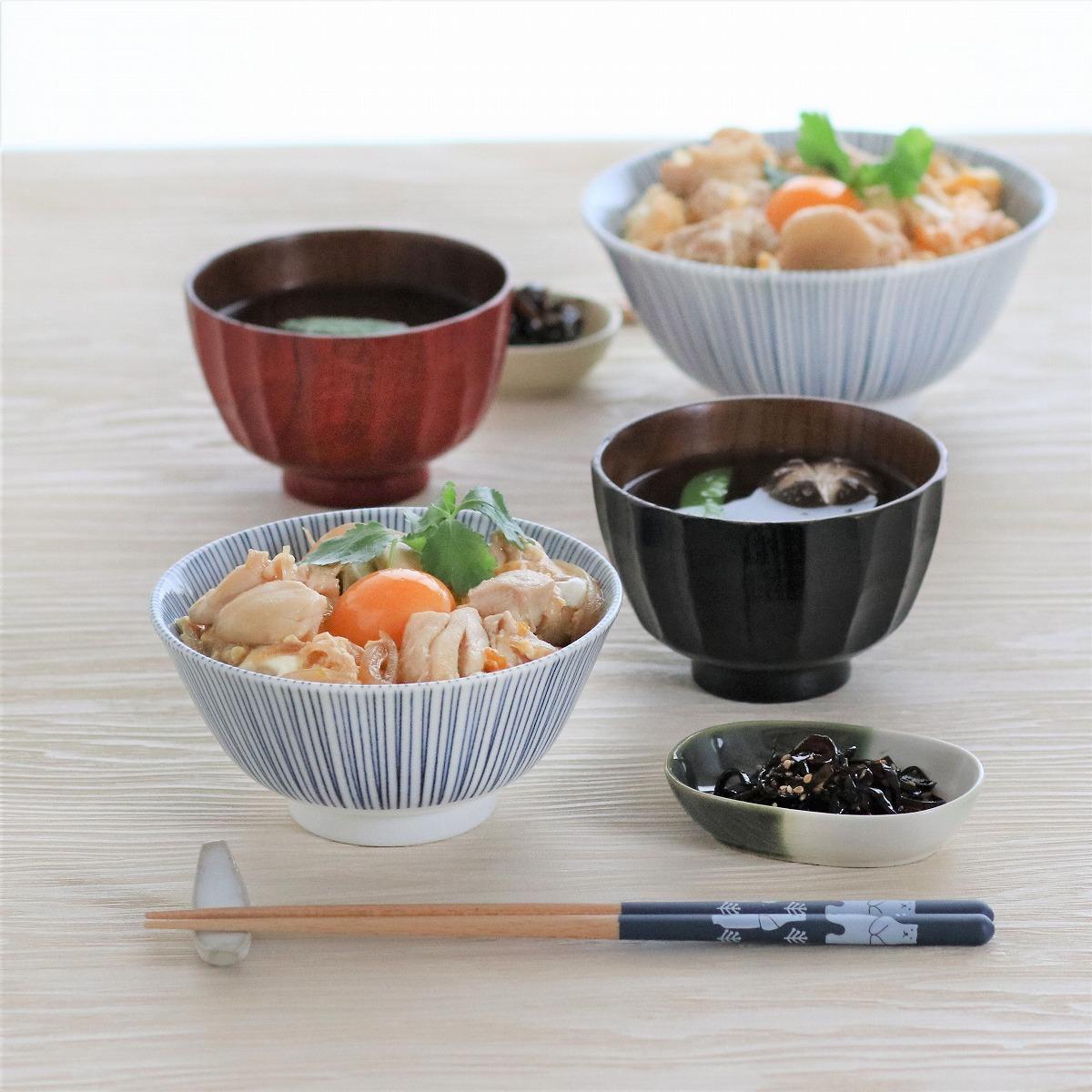 みのる陶器 黒十草 4寸多用丼 13.4cmの商品画像8