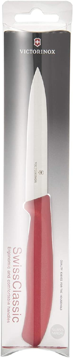 VICTORINOX(ビクトリノックス) スイスクラシック パーリングナイフ10cm 6.7701 REDの商品画像6