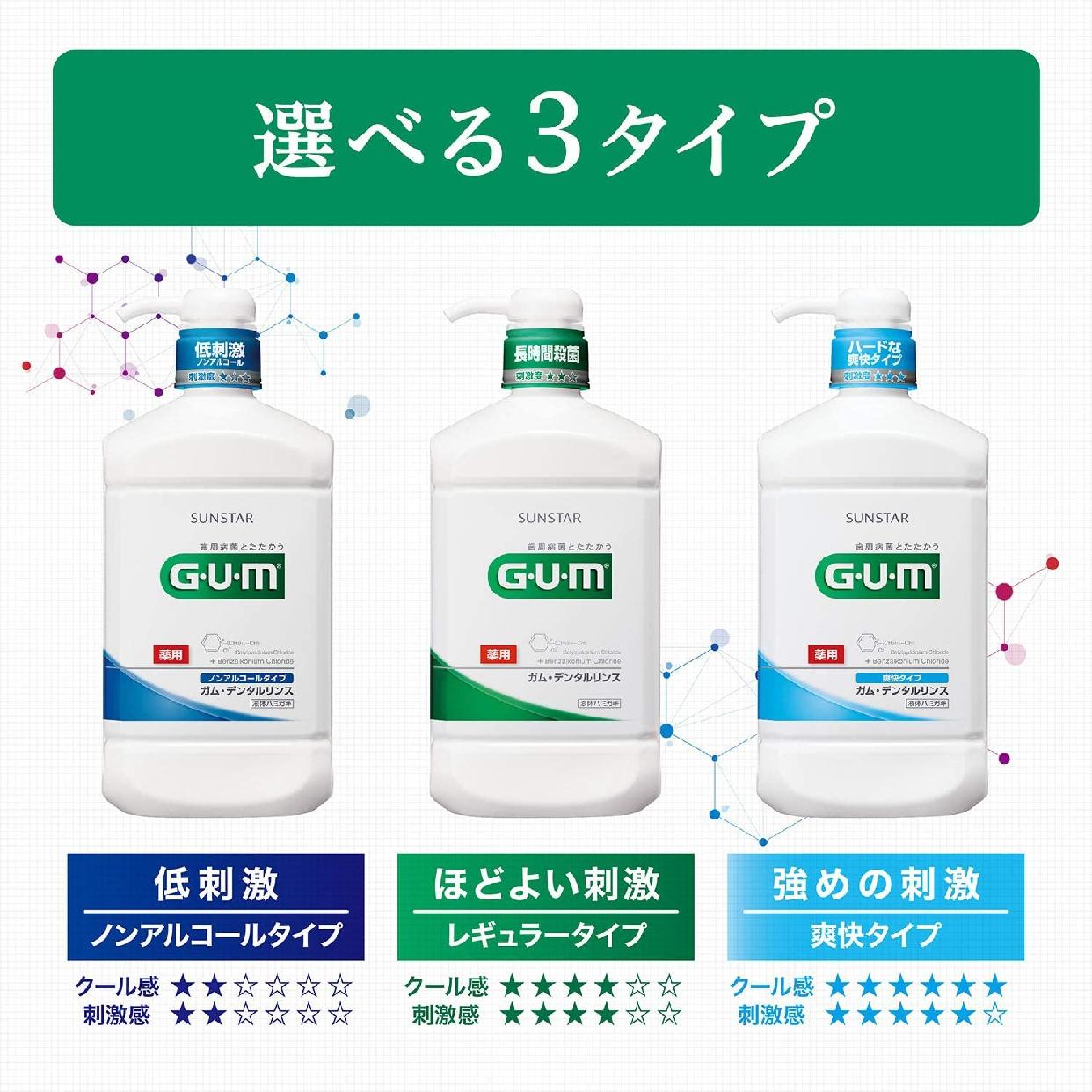 GUM(ガム) デンタルリンス(レギュラータイプ)の商品画像5