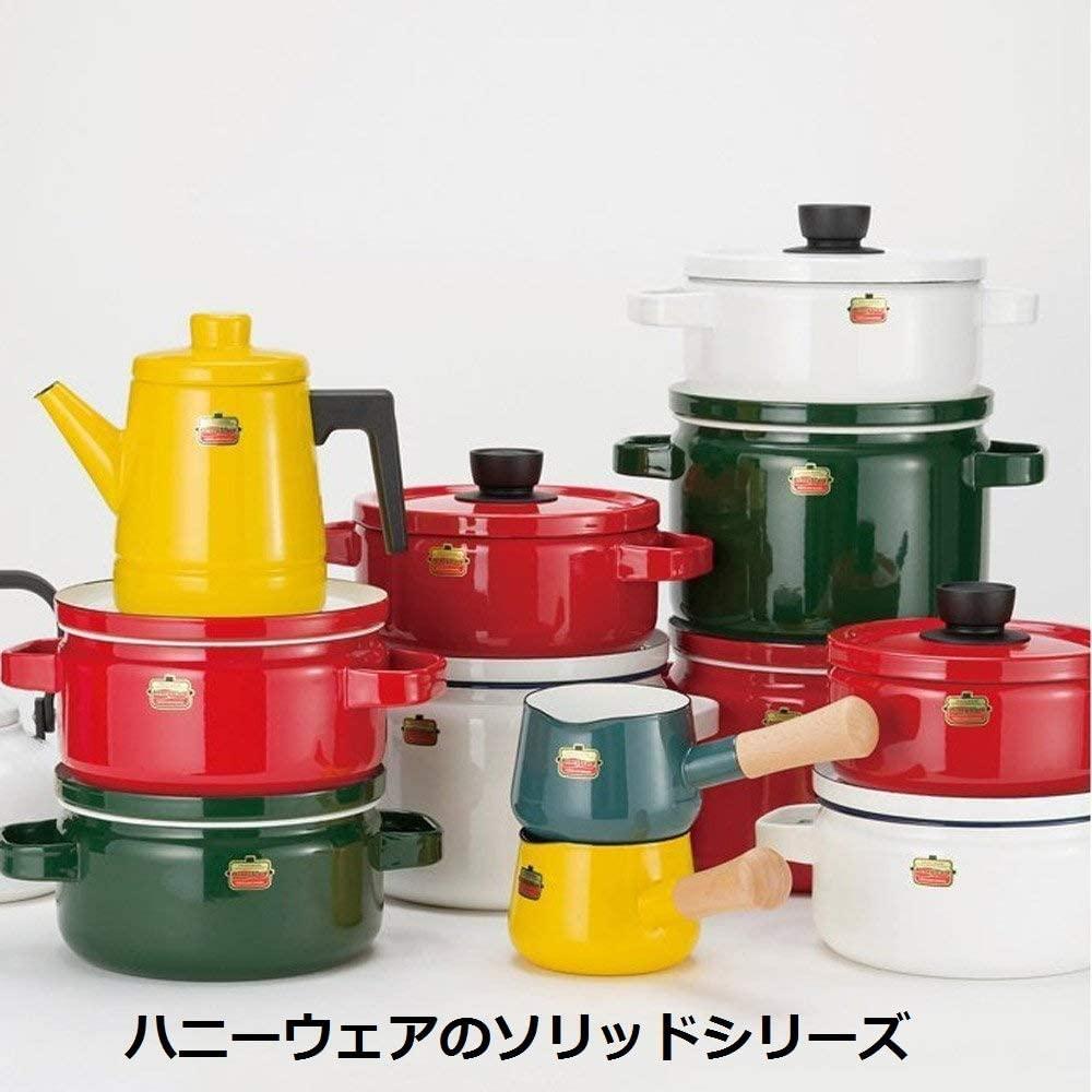 富士ホーロー(FUJIHORO) ソリッドシリーズ 20cm キャセロール  SD-20Wの商品画像5