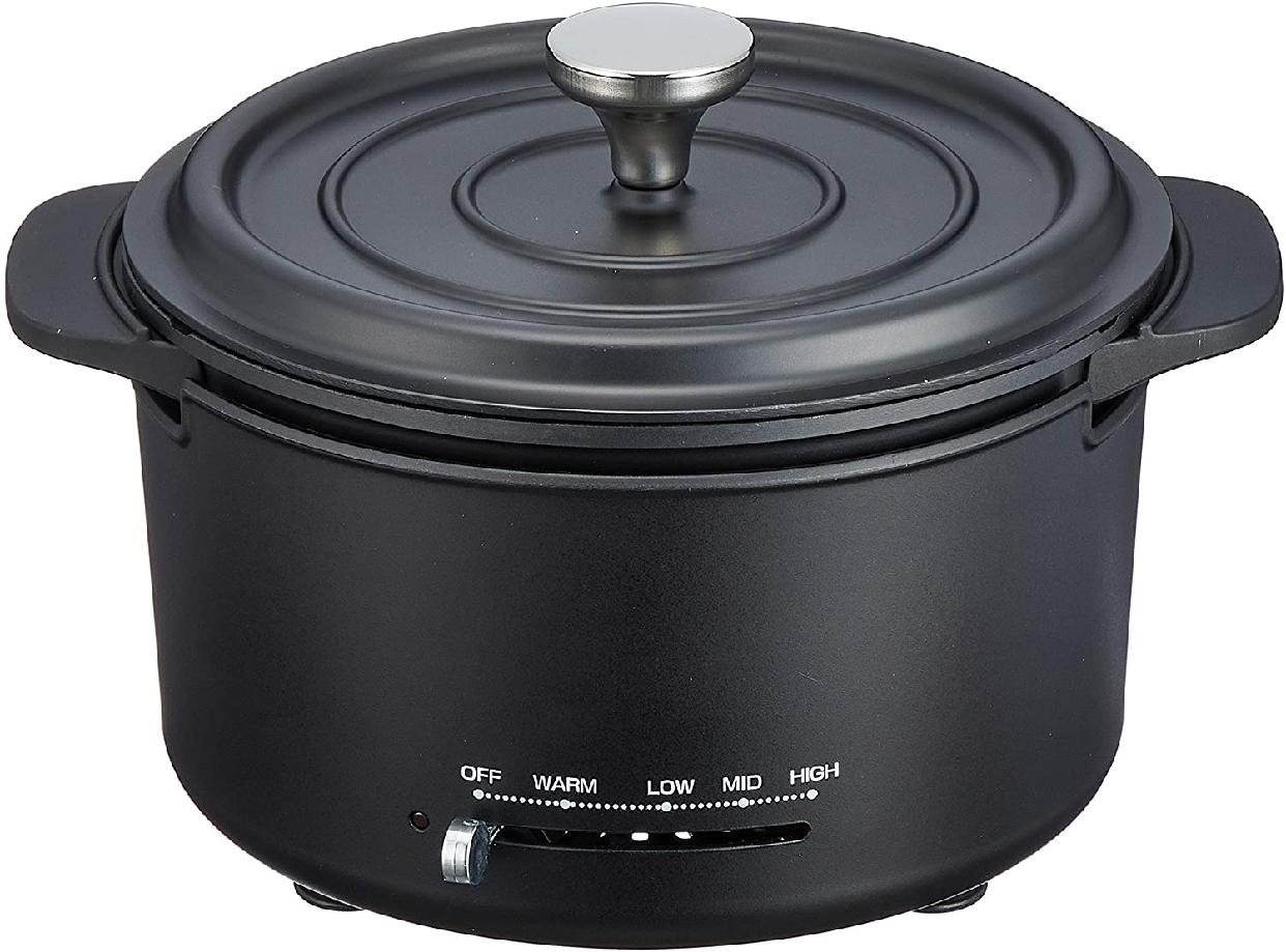 山善(YAMAZEN) 電気グリル鍋 EGD-D650(MB)の商品画像
