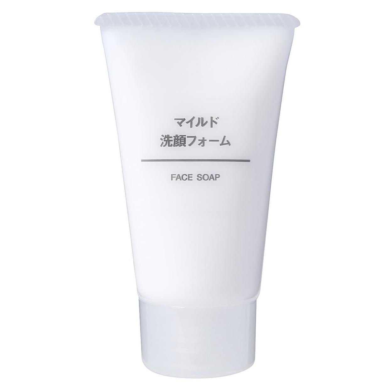 無印良品(MUJI) マイルド洗顔フォーム