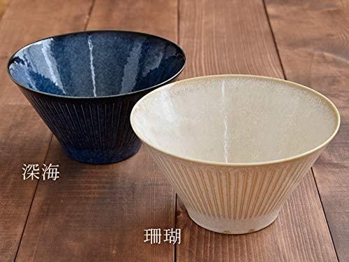 TABLE WARE EAST.(テーブルウェアイースト) 台形マルチボウル(M) 彫十草 深海の商品画像9
