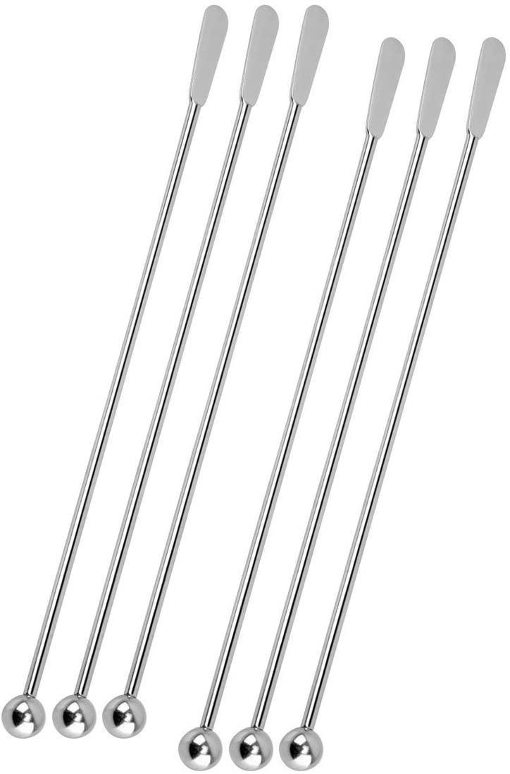 T&B(ティーアンドビー)ロングマドラー 304 シルバー 18.8cmの商品画像