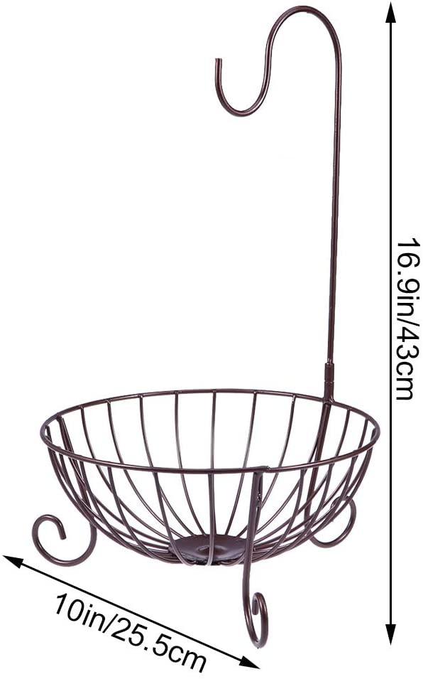 WINOMO(ウィノモ)バナナ吊りフック付きフルーツバスケットの商品画像3