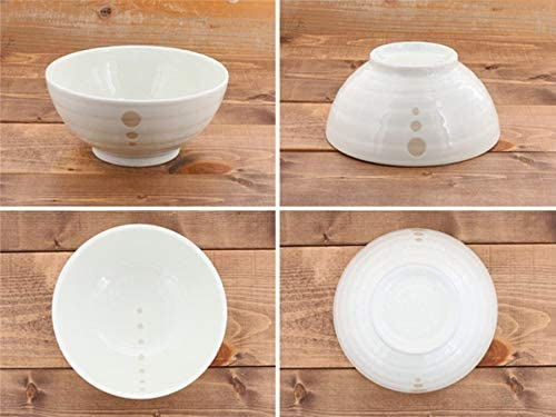 TABLE WARE EAST.(テーブルウェアイースト) 和食器 水玉 さぬきどんぶり (大)白の商品画像8
