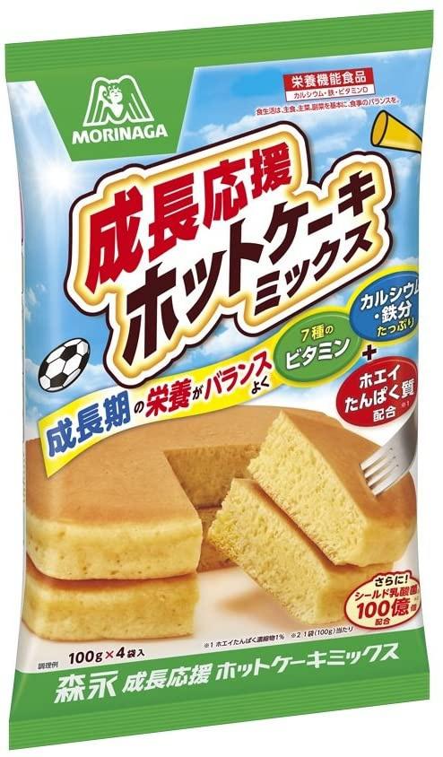 森永製菓(MORINAGA) 成長応援ホットケーキミックスの商品画像