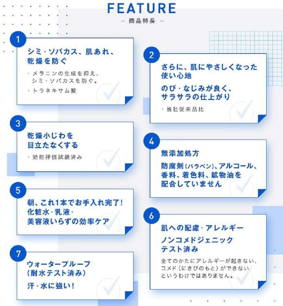 資生堂サンメディックUV(しせいどうさんめでぃっくゆーぶい)薬用サンプロテクト EX aの商品画像4