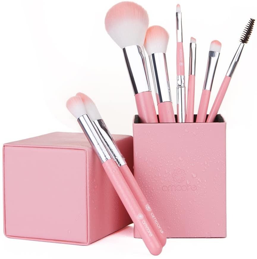 amoore(アムーア) 化粧筆 メイクブラシセット 8本の商品画像