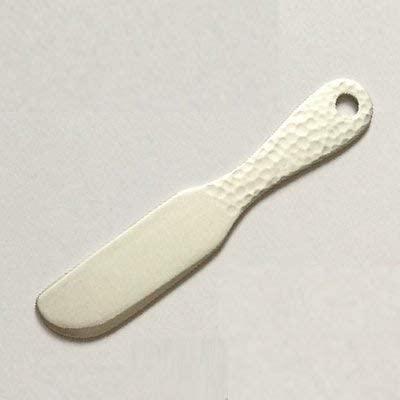 アイデアセキカワバターナイフ鎚目 シルバーの商品画像2