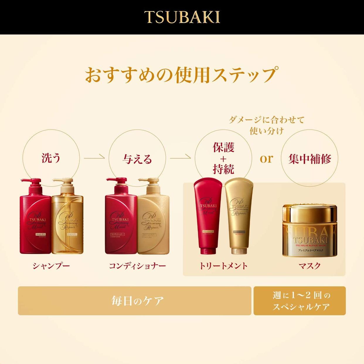 TSUBAKI(ツバキ)プレミアムモイスト ヘアコンディショナーの商品画像6