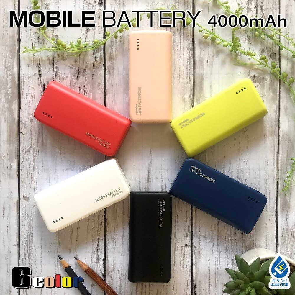 テレホンリース USBモバイルバッテリー テレホンリース RLI040M2A01BKの商品画像8