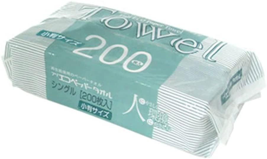 フジナップ 再生紙エコペーパータオル 小判サイズ 200枚×40個の商品画像