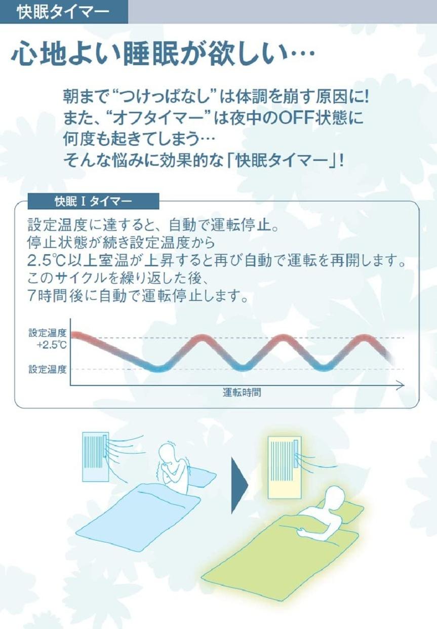 KOIZUMI(コイズミ) ルームエアコン KAW-1672/Wの商品画像2