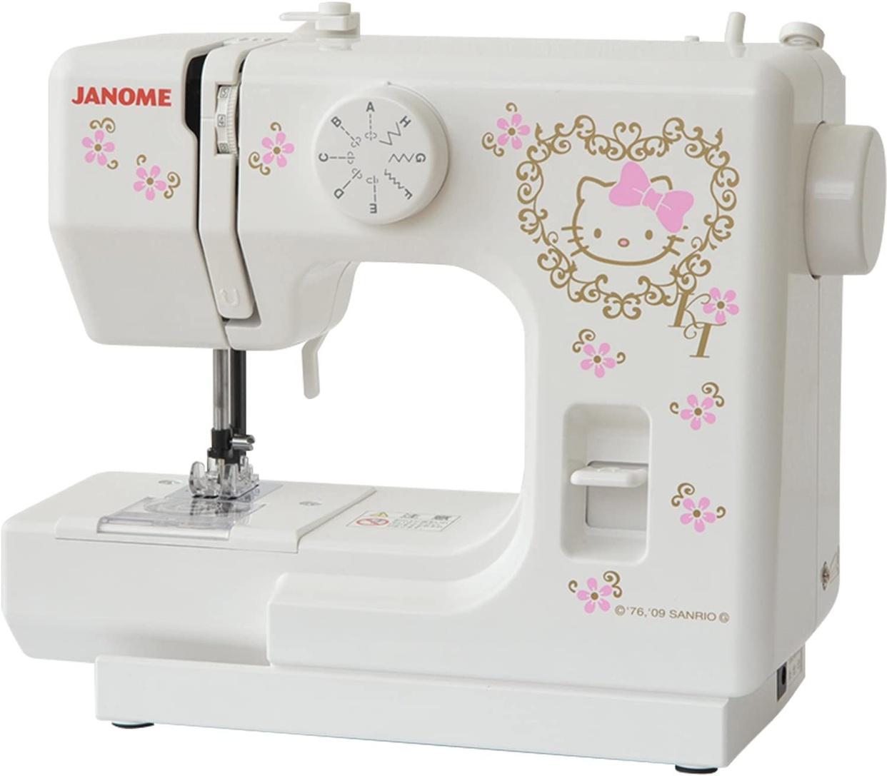 JANOME(ジャノメ) ハローキティミシン KT-35の商品画像