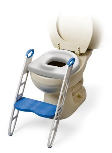 MOMMY'S HELPER(マミーズヘルパー) トイレトレーニング 補助便座 ステップ付 (折りたたみ式)の商品画像