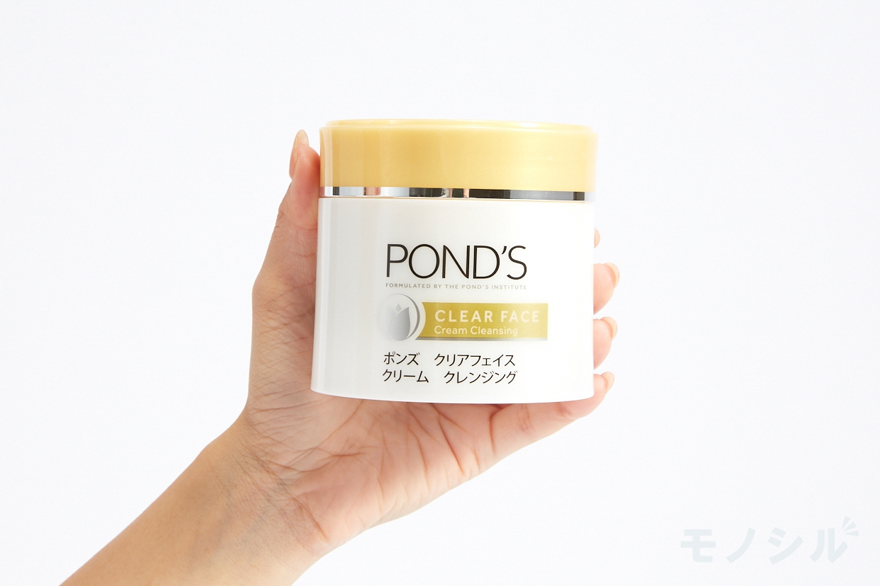 POND'S(ポンズ) クリアフェイス クリームクレンジングの商品画像2 商品を手で持って撮影した画像