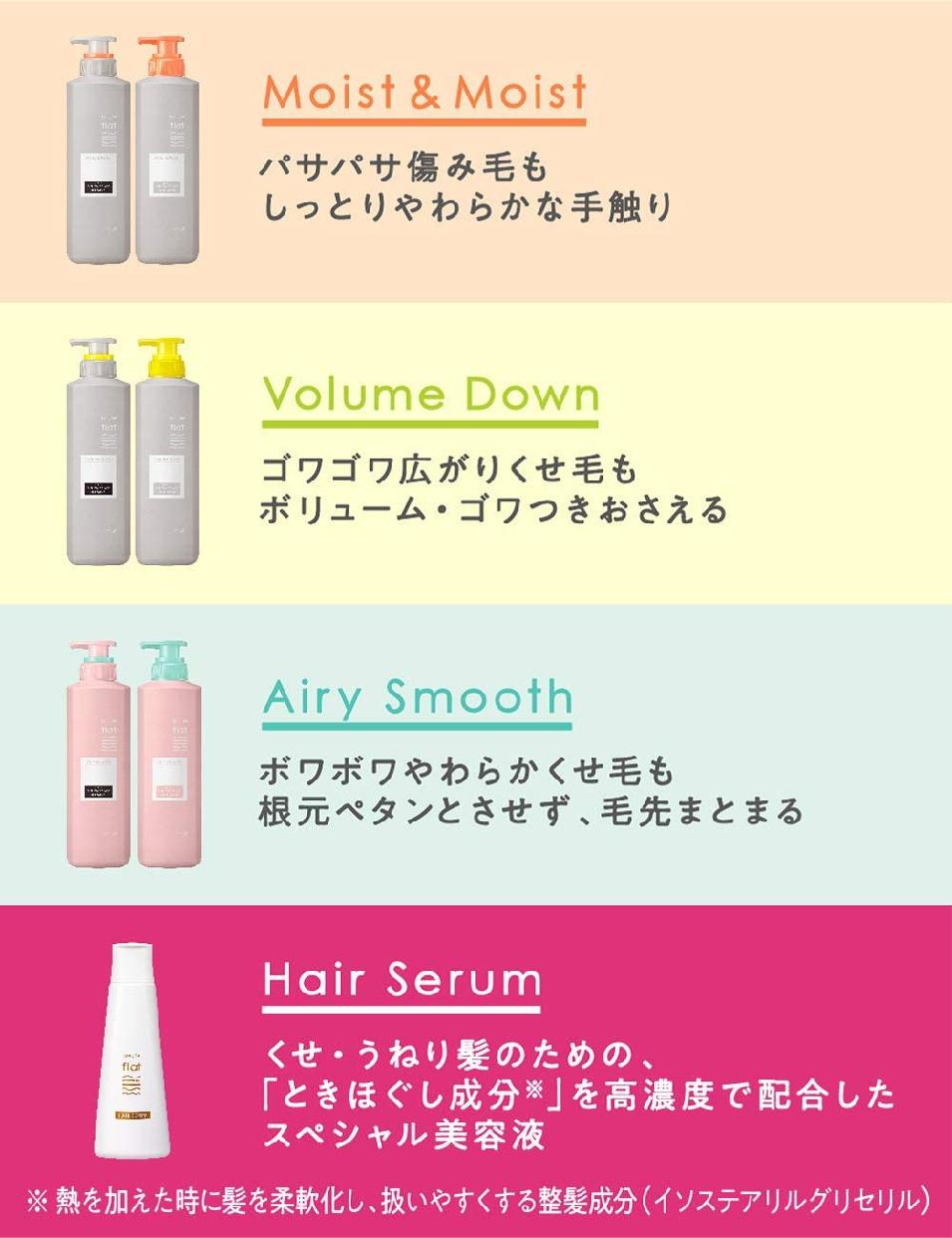 Essential(エッセンシャル) フラット モイスト&モイスト シャンプーの商品画像6