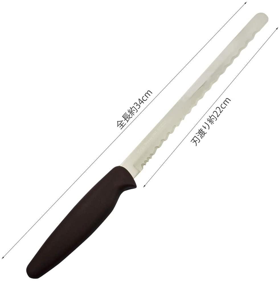貝印(カイジルシ)Bready ONE(パン切りナイフ) AB5524 シルバーの商品画像4
