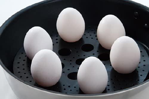 ウルシヤマ金属(ウルシヤマキンゾク)便利プレート フライパンで簡単蒸し調理 ブラックの商品画像6