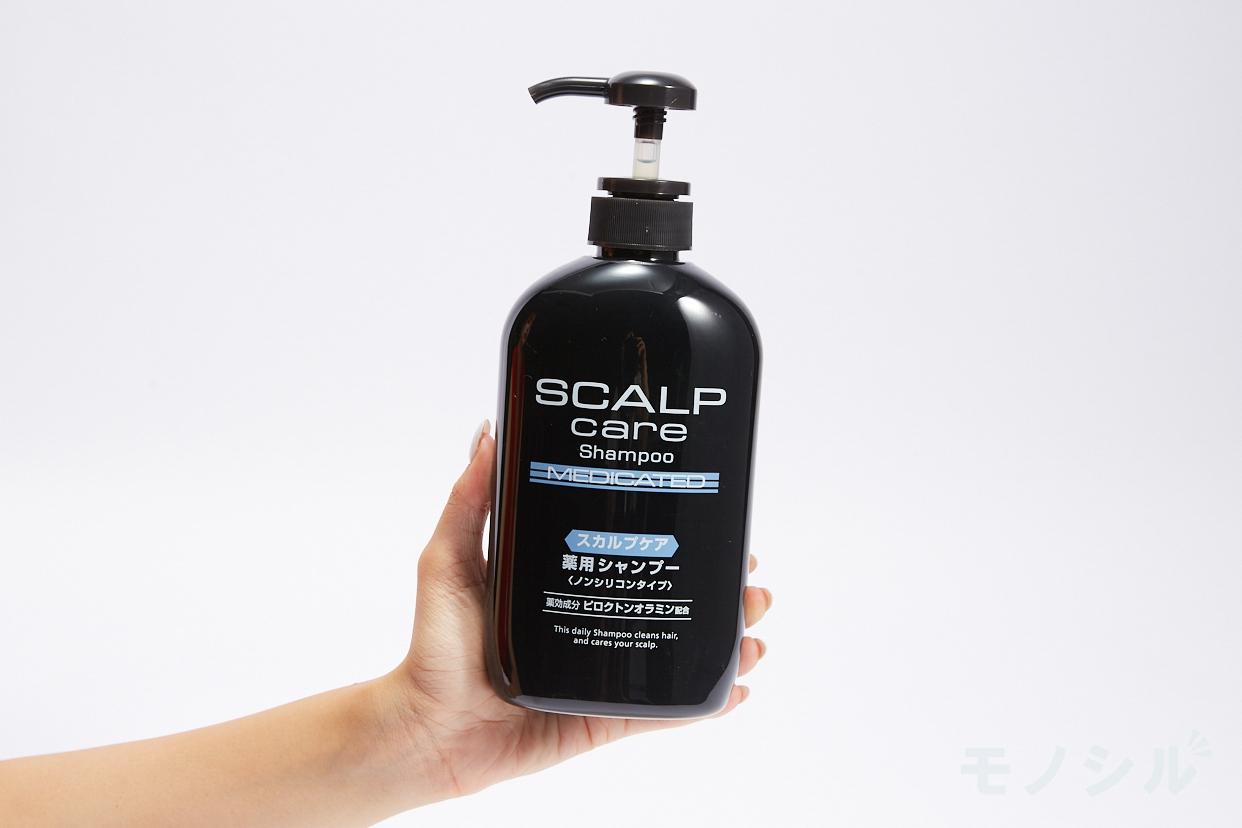 熊野油脂 スカルプケア薬用シャンプーの手持ちの商品画像
