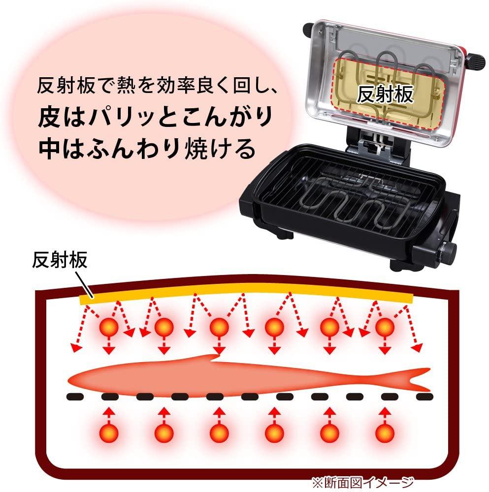 IRIS OHYAMA(アイリスオーヤマ) マルチロースター EMT-1101の商品画像5