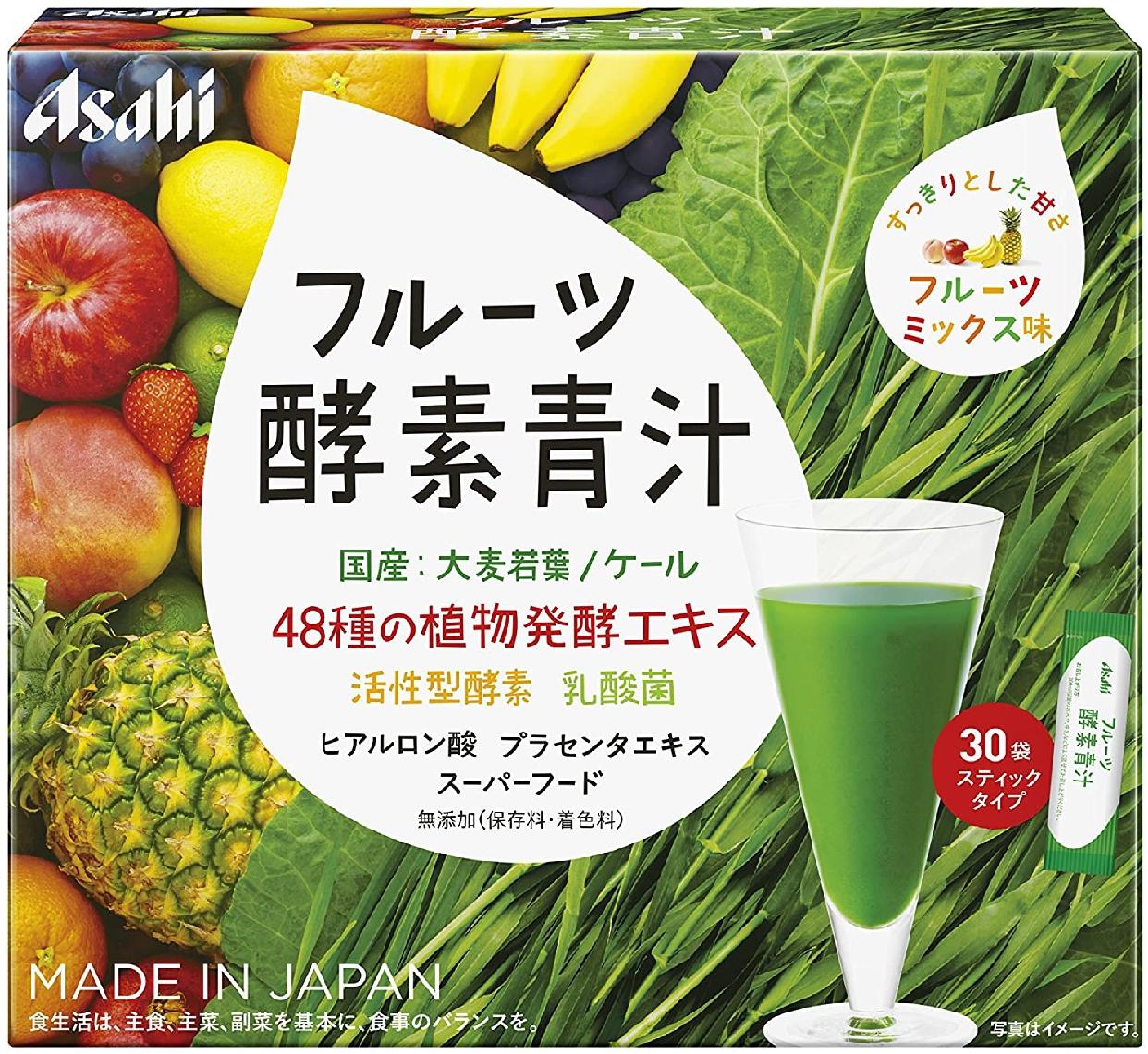 アサヒグループ食品(あさひぐるーぷしょくひん)フルーツ酵素青汁の商品画像4